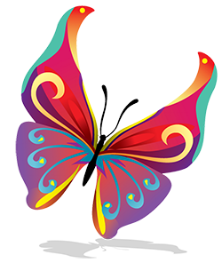 Vector---Butterfly