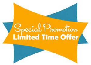 Grand Opening Launch- Special Promotion